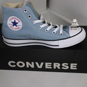 Sky Blue Classic Converse All Star High Tops